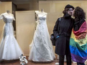 Casamento gay entra em vigor na Frana (Jeff Pachoud/Arquivo/AFP Photo)
